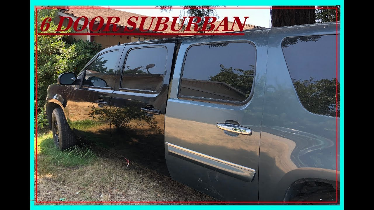6 DOOR SUBURBAN BODY WORK BEGINNING