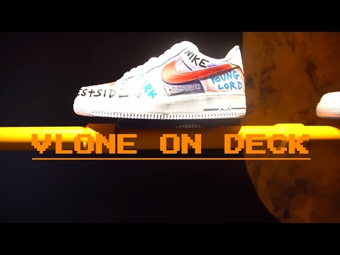 VLONE X A$AP BARI NIKE AIR FORCE 1 CUSTOM