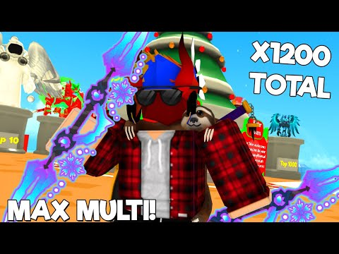 I *MAXED* Out The New Eternal Frost God Item In 3 Days... (ROBLOX SUPER POWER FIGHTING SIMULATOR)