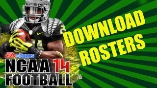 "NCAA Football 14  ""FREE REAL GAME ROSTERS DOWNLOAD""  NCAA 14 Football Strategies"