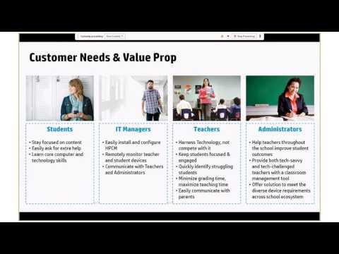 HP Classroom Manager - live presentation