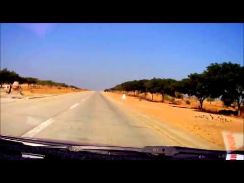 Yangon-Mandalay Myanmar timelapse road trip
