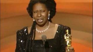 Whoopi Goldberg winning Best Supporting Actress thumbnail