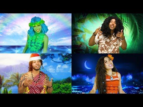 MOANA VS MAUI RAP BATTLE SONGS MEDLEY. (Totally TV Rap Battle)