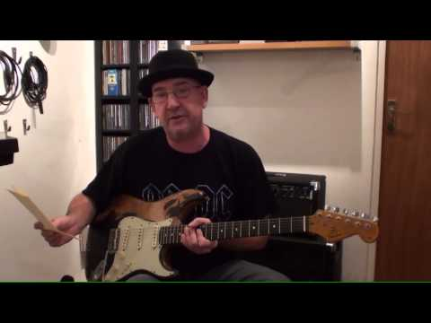 Demo of my John Grierson relic strat with Kerry Learned Custom 64's pickups