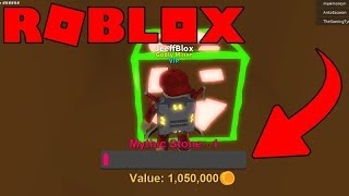 THIS STONE GAVE ME 1 MILLION GOLD IN MINING SIMULATOR-ROBLOX