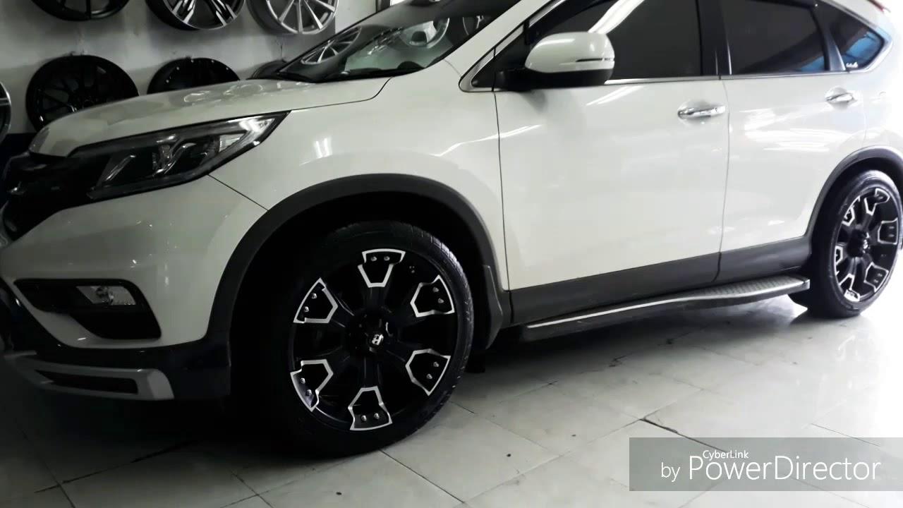 Modifikasi Honda Crv Pristige Pakai Velg Offroad HSR