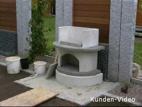 gartenkamin verona von buschbeck youtube. Black Bedroom Furniture Sets. Home Design Ideas