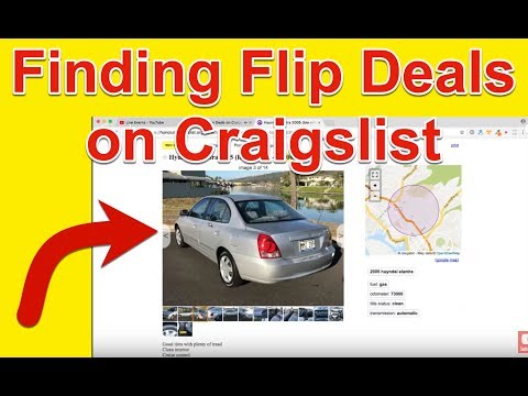 How To Flip Cars >> Finding Car Deals On Craigslist How To Flip Cars