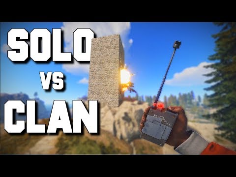 SOLO Player BANKRUPTS a CLAN - Rust