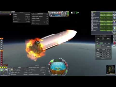 KSP/RO - SpaceX ITS Upgrade and Reentry Test