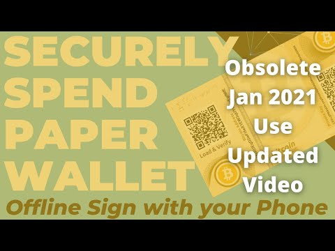 Securely Withdraw A Bitcoin Paper Wallet: Offline Signing With Your Air-gapped Phone Via Electrum