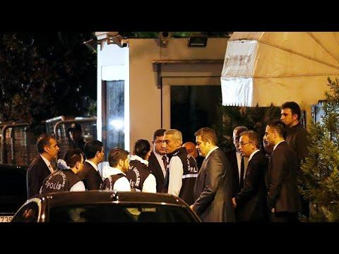 Já há buscas no consulado saudita em Istambul