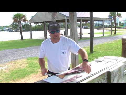 How to fillet a Redfish - Dexter Outdoors