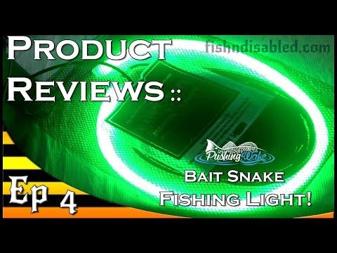 bait snake fishing light product review - youtube, Reel Combo
