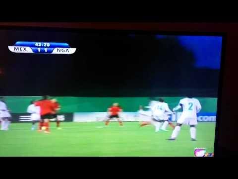 Mexico vs Nigeria Femenino Mundial Canada 2014..