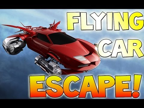 FLYING CAR ESCAPE! - EPIC! - Watch Dogs HACKING Multiplayer - Online LIVE w/ Face Cam!
