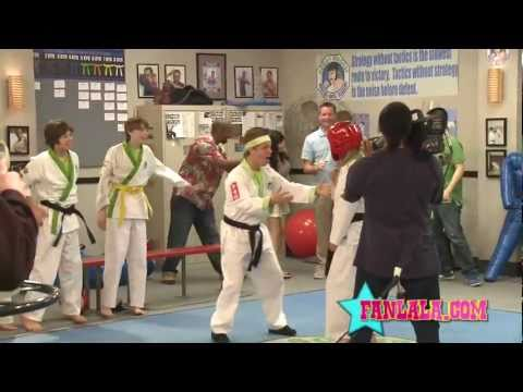 Jason Earles s Karate Moves on Set of Kickin' It