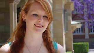 QUT Mechatronic Engineering student, Amy Gunnell