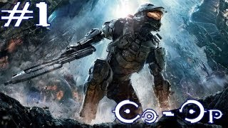 Halo 4 - Walkthrough - Co-Op - Part 1 - Ass Ripper