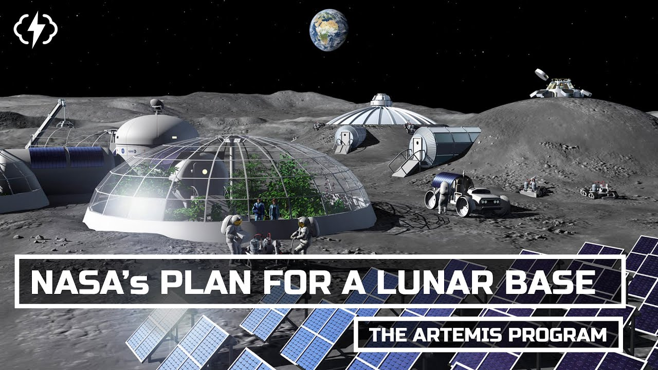 NASA's Plan For A Permanent Moon Base - YouTube