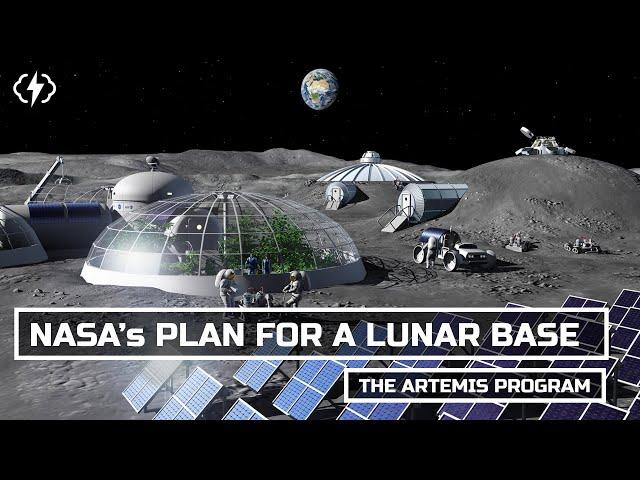 NASA\'s Plan For A Permanent Moon Base