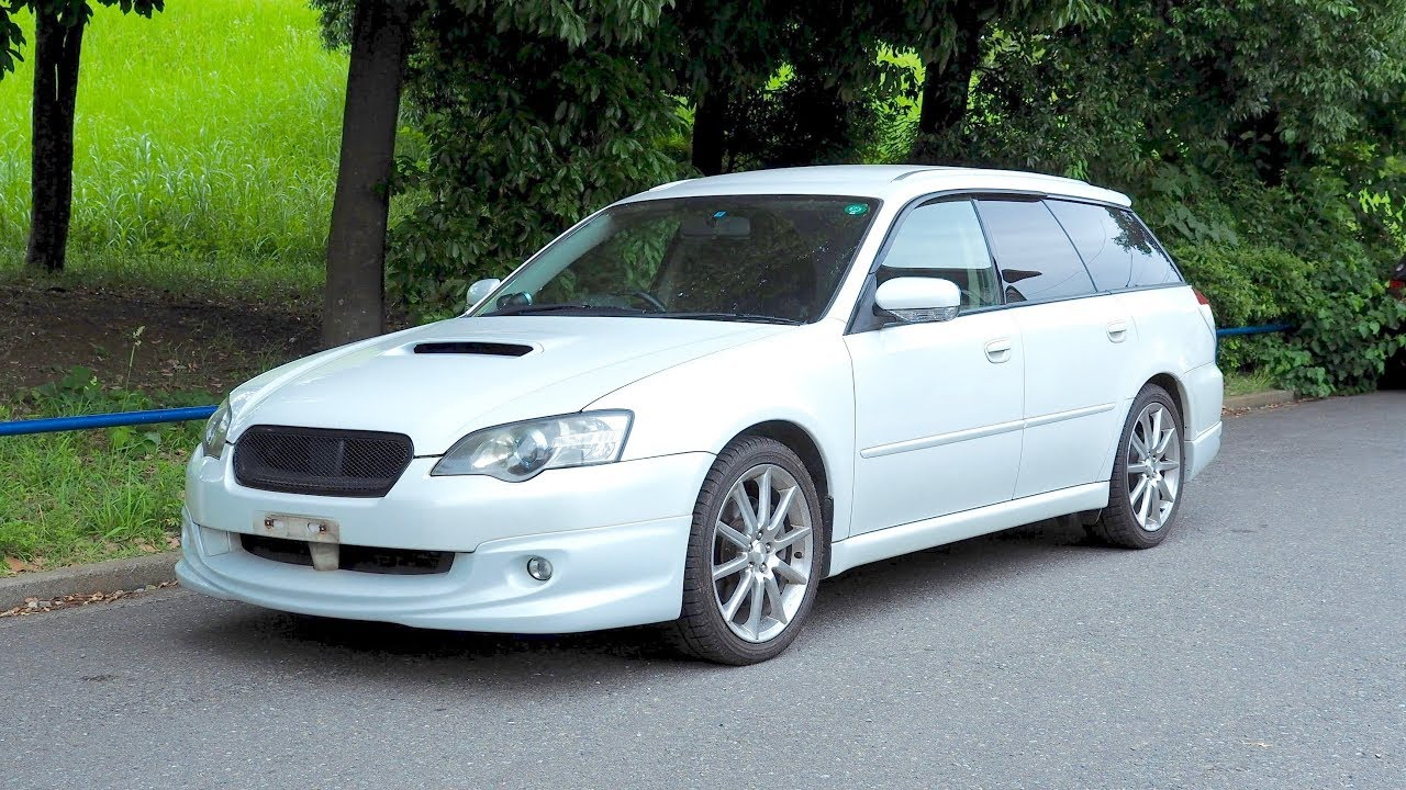 2003 Subaru Legacy Turbo 20 Spec B Canada Import Japan Auction Purchase Review