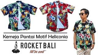 Aloha Kemeja - Kemeja Hawaii Lelaki - Kemeja Pantai Termurah - Kemeja Pantai Terlaris - Baju Pantai Floral -  Baju Pantai Bunga - Kemeja Pantai Pria