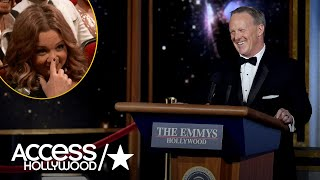 Sean Spicer's Surprise Emmy Appearance: The Best Celebrity Reactions | Emmys 2017