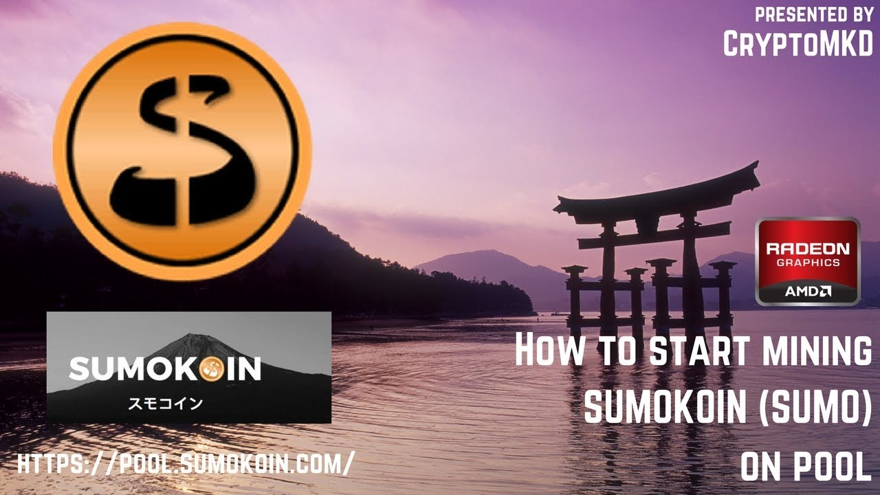 How to start mining SUMOKOIN (SUMO) on pool
