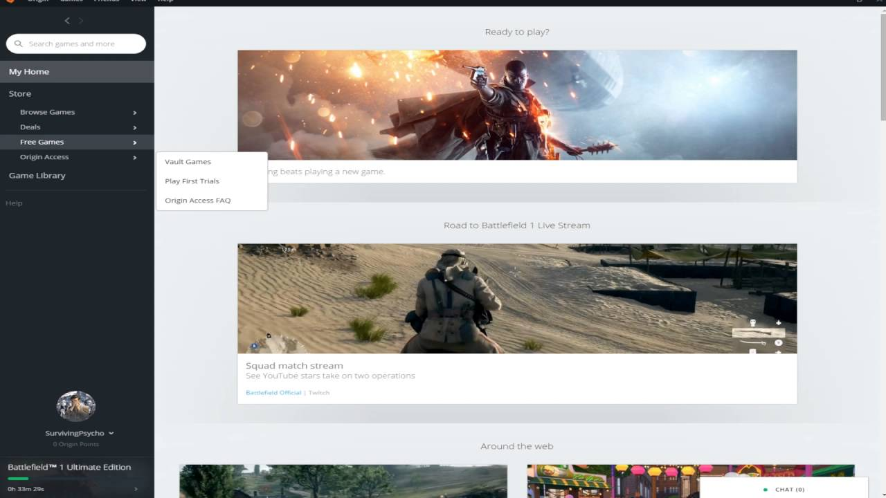 How to disable Origin in game for Battlefield 1