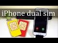 iPhone Dual Sim - NeeCoo Dual SIM Adapter