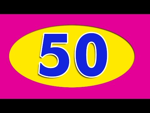 Number Song   Learn numbers from 1 to 50