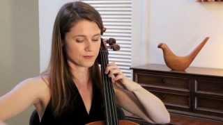 Jen Kuhn's Mini Bach Break No.1 - Bach Solo Cello Suite in G Major - Prelude