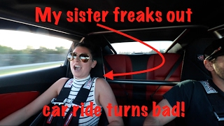 Taking my SISTER in my 1000hp CAMARO turns bad! thumbnail