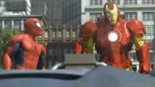 Spiderman, Ironman and Hulk - Unofficial Marvel Animation