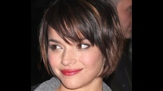 40 Celebrities with Short Hair and Round Faces.