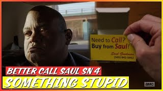 Better Call Saul   Sn 4 Ep 7 - Something Stupid   Review