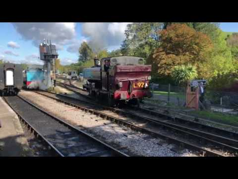 Day Out With Thomas On South Devon Railway 20/10/2019