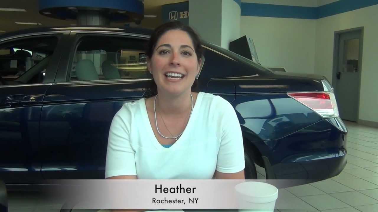 Dick Ide Honda >> Customer Testimonial: Heather- 2012 Crosstour -Dick Ide ...