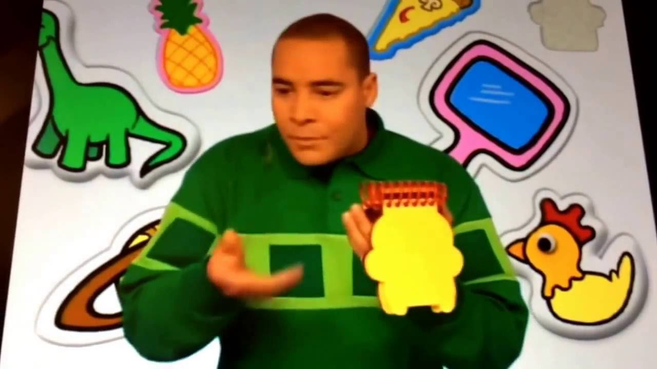 blues clues how to draw a mirror and crayons with my voice youtube