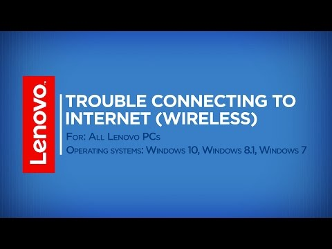 Troubleshooting wireless networking issues, Windows 7, 8, 8 1, & 10