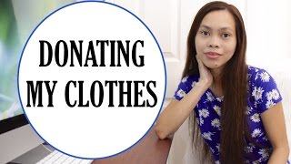 Donating my clothes + Embracing  Minimalism? Chitchat Vlog