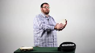 Tambourine Demonstration Video: Grip, Strokes, and Special Sauce Roll