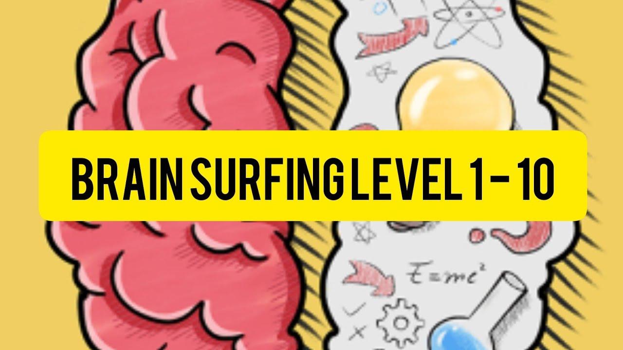 Brain Surfing Level 1 - 10 Answer Gameplay Walkthrough ...