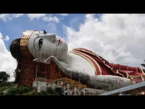 Myanmar ( Burma ) 2013, Mudon, the biggest Buddha in the World,