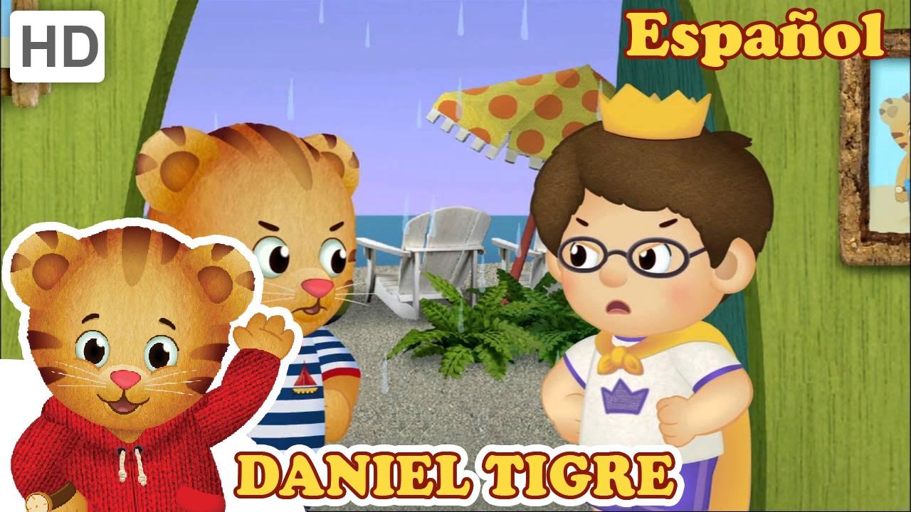 Daniel Tigre en Español - 1-Daniel se enoja - YouTube