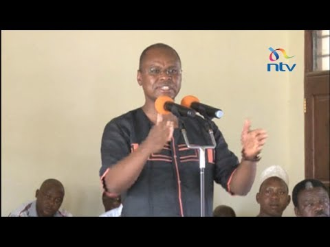 President Uhuru Kenyatta hints at jailing Governor Amason Kingi