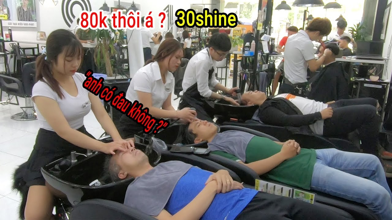 Sốc Kiểu Cắt tóc từ A đến Z giá chỉ 80k với combo 7 bước ở 30SHINE tại TP HCM
