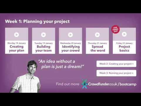 Bootcamp: Planning your project with Graeme Roy - YouTube